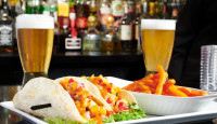 fish tacos beer fries stoney creek lunch