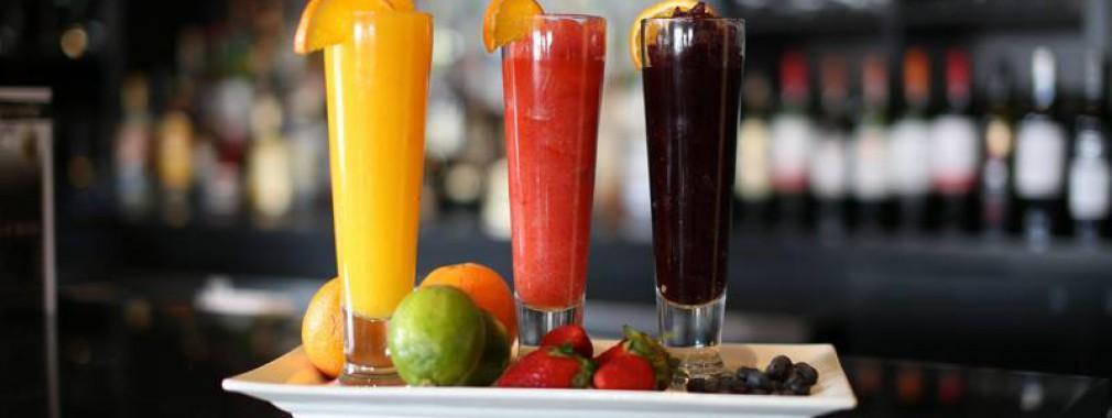 fresh fruit healthy menu beverage options lighter fare