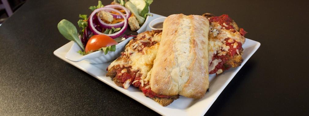 sandwich wraps salads lighter fare take out restaurant menu mississauga oakville