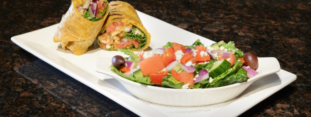 light meals chicken wrap salad sandwich restaurant menu north york
