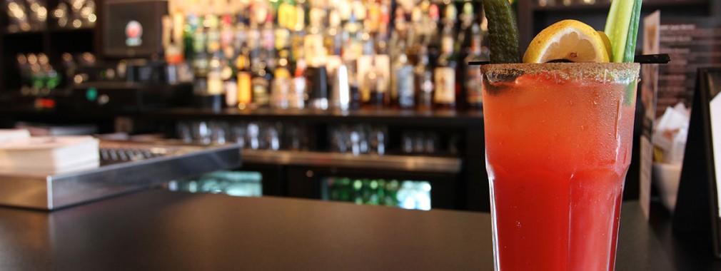 bloody caesar cocktails full bar snacks thornhill neighbourhood restaurant