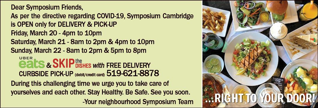 Symposium Cafe Cambridge - COVID 19