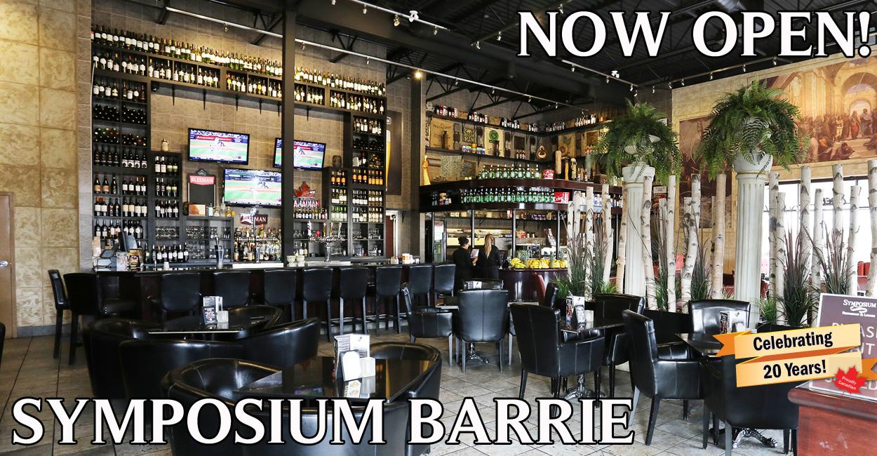 Barrie opening 24 November