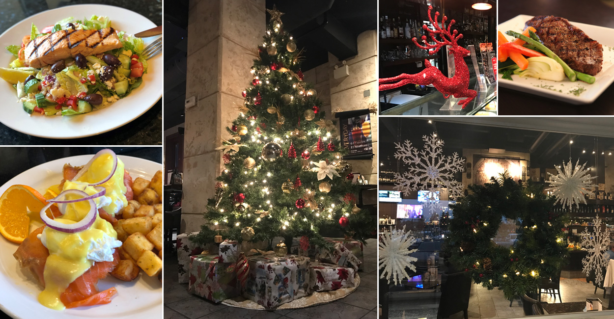 Christmas in Symposium Cafe