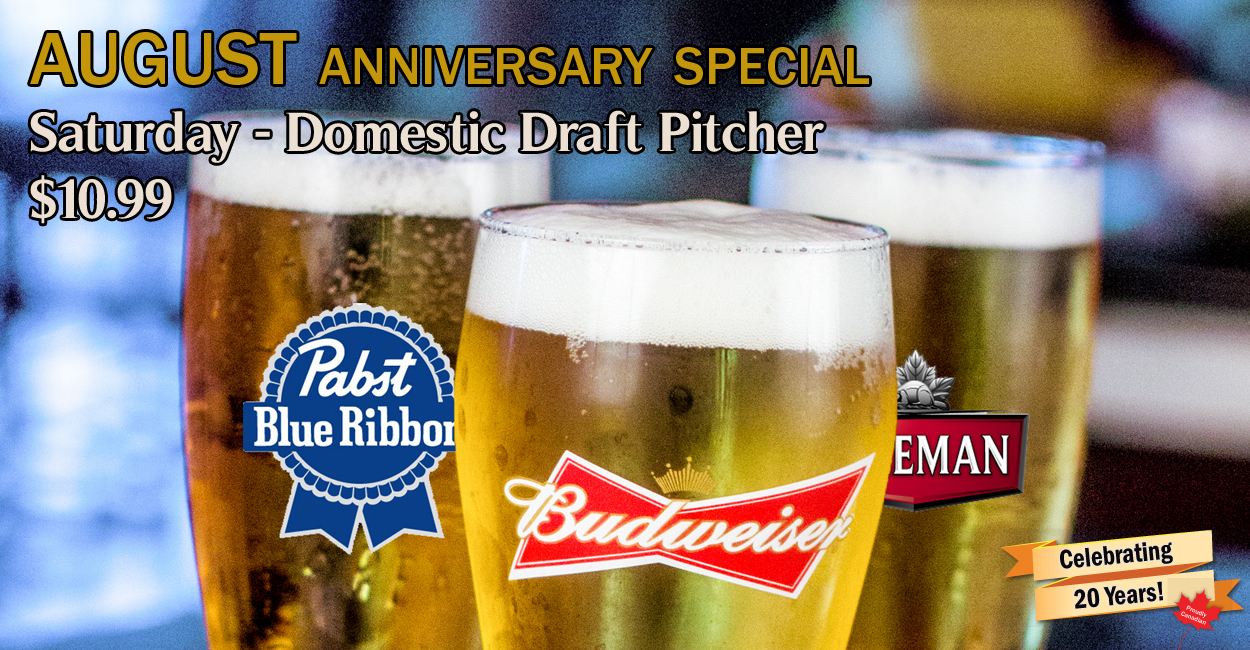 Draft Anniversary Special - August
